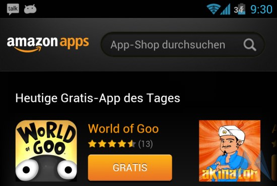 amazon Android games gratis Spiel