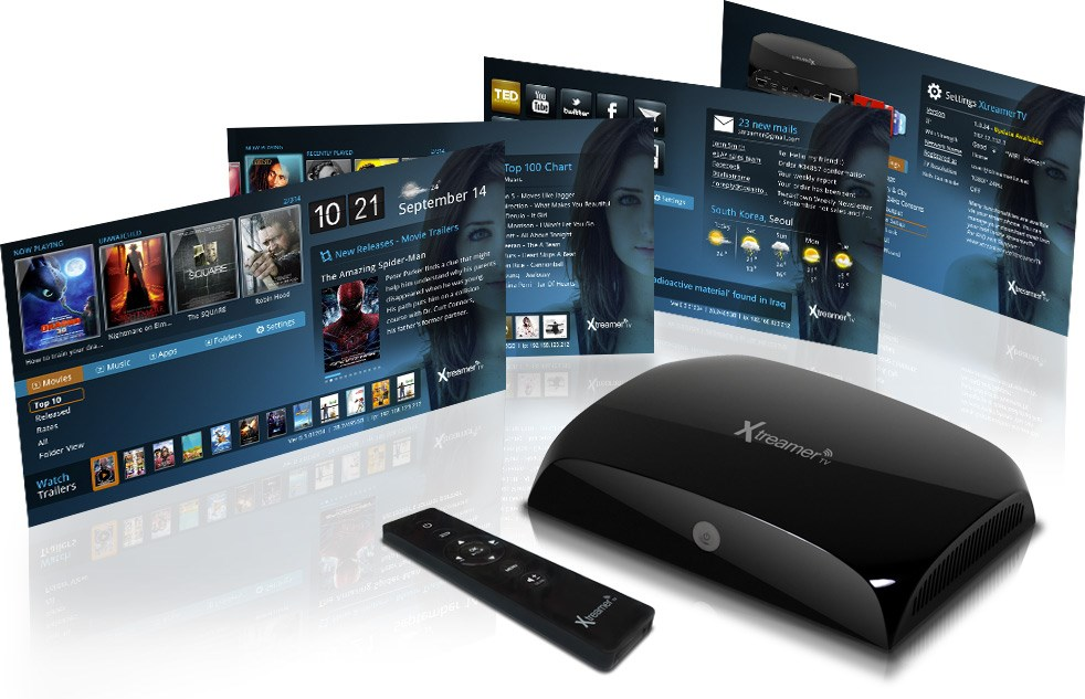 Apple box streaming TV