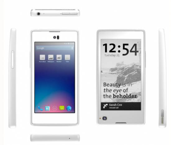 Android Display e-ink phone