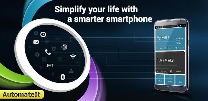 Android Autmateit Automatisierung GPS tasker