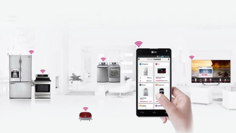 CES 2013 haushalt home LG mobil smart home