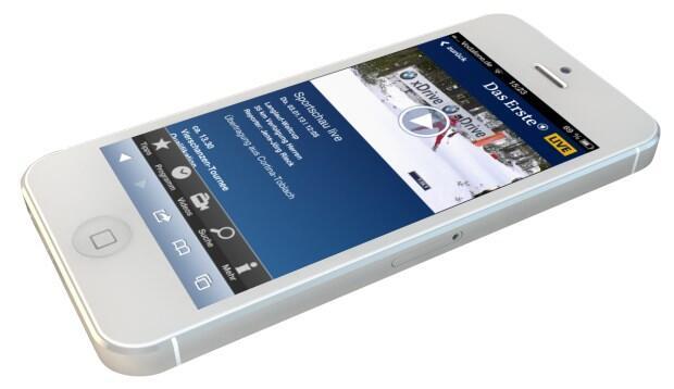 Android ard das erste iOS Live mobil stream