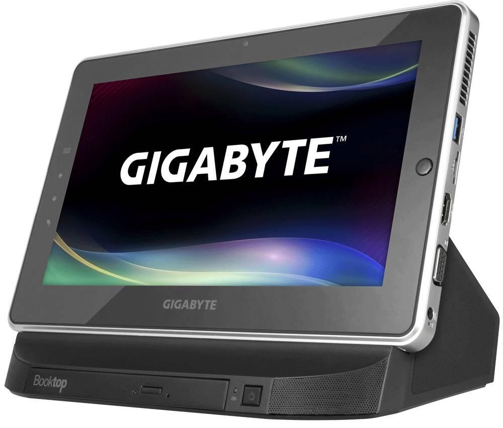 10.1 Zoll CES 2013 Gigabyte pc tablet