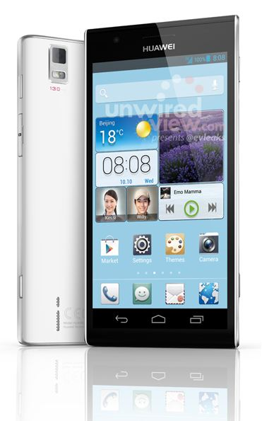 Android ascend p2 Huawei Mobile World Congress 2013