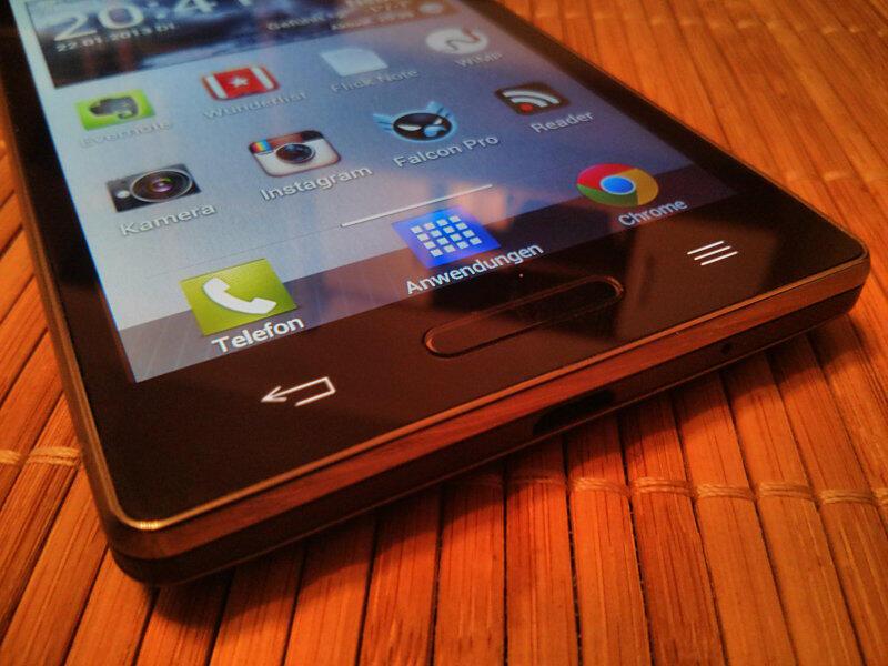 LG P760 Optimus L9 Testbericht