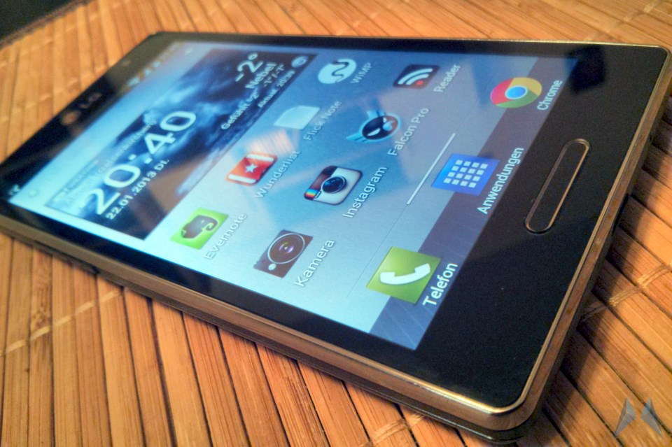 Android Google L9 LG Optimus L9 Smartphone test Testbericht Volks-Smartphone
