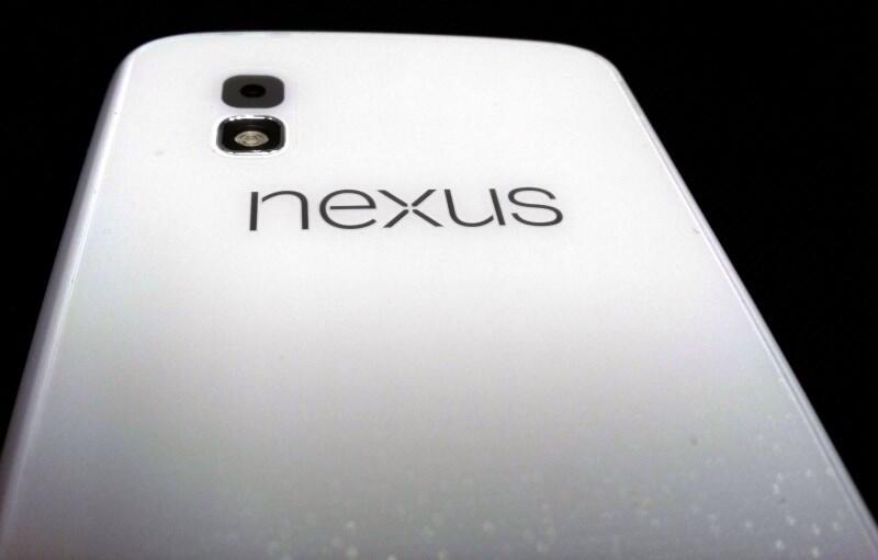 Android Google LG nexus 4 weiß
