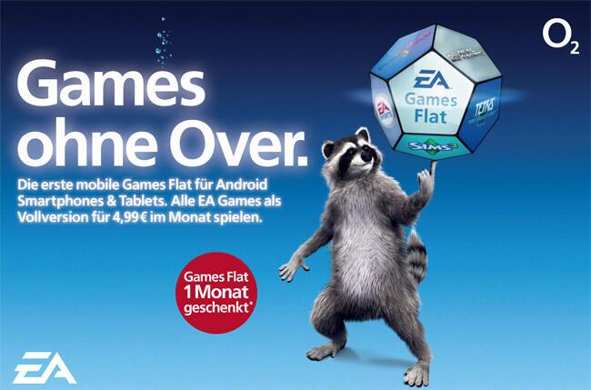 Android deutschland ea games flatrate o2 Spiele
