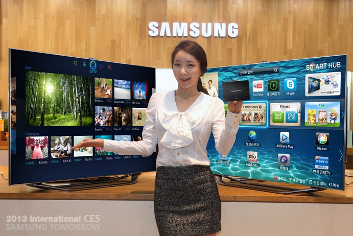 CES 2013 Evolution Kit Samsung TV