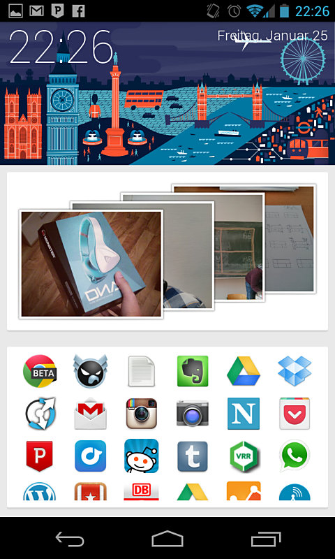 Android app Google Google Now holo homescreen launcher