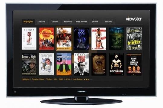 TV Video-on-Demand Viewster vod