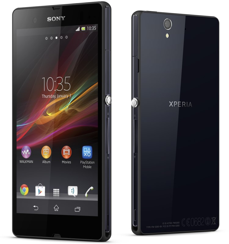 Android CES 2013 Sony Xperia xperia z