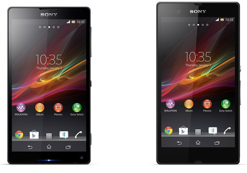 Android CES 2013 Leak Sony Xperia xperia z Xperia ZL