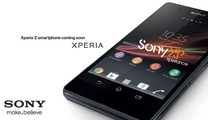 Android CES 2013 Sony xperia z