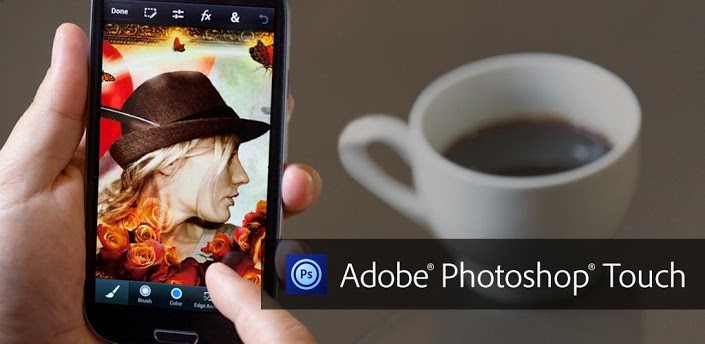 Adobe Android iOS iphone photoshop Touch