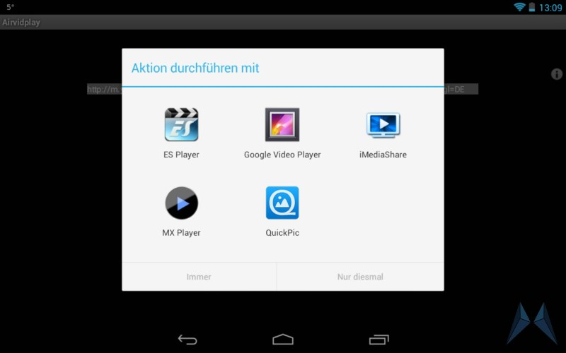 Android app Video