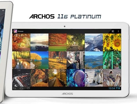 Android Archos tablet