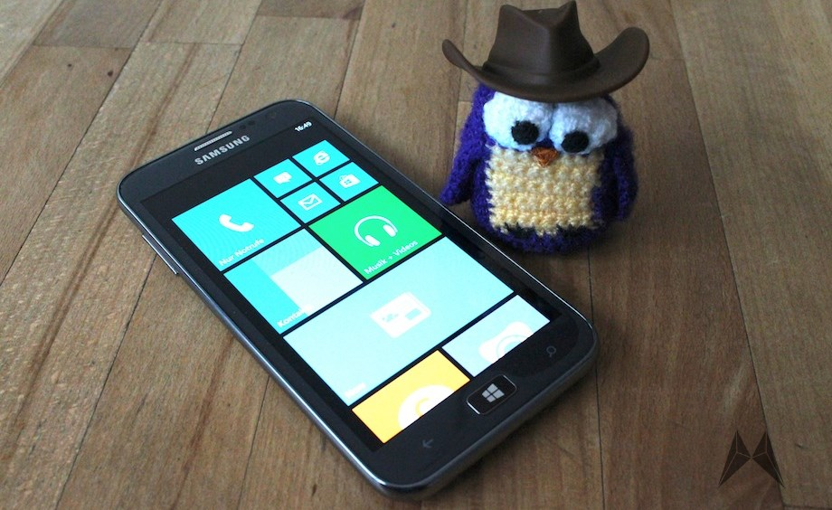 Ativ S Samsung test Testbericht windows phone 8