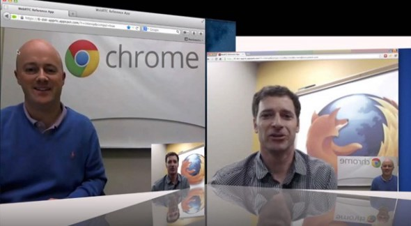 Browser chrome firefox videochat