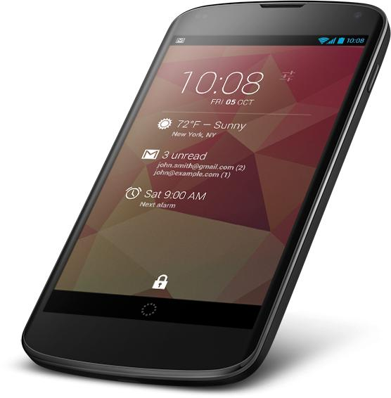 Android dashclock widget