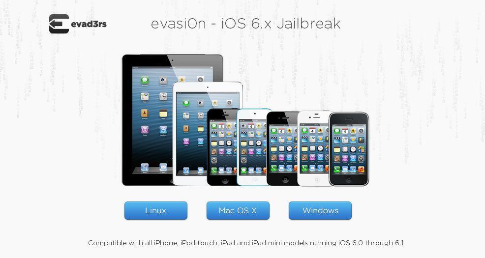 Apple evasi0n iOS iPad iphone jailbreak