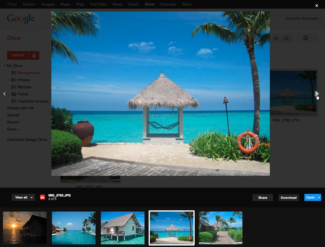 drive Fotos Google vorschau