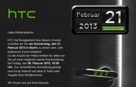 Android event exklusiv HTC