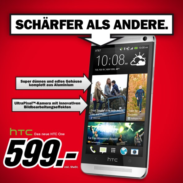 Android HTC media markt one