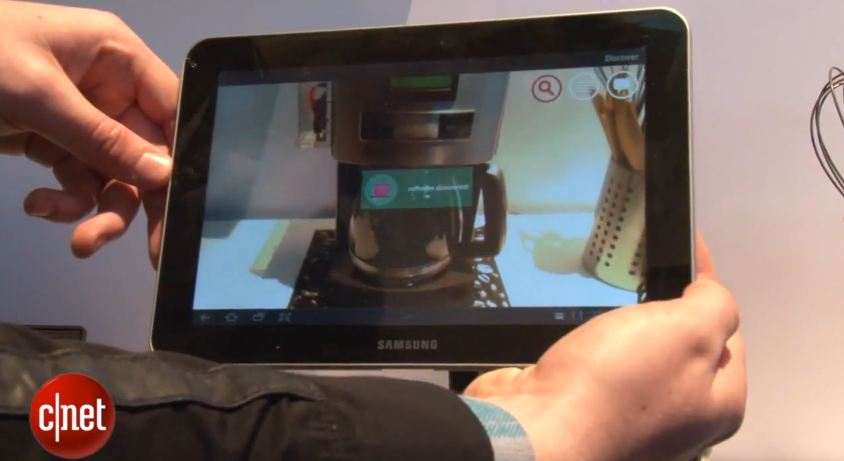 kaffee Konzept Mobile World Congress 2013 Wlan