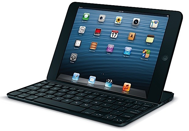 Apple iOS iPad keyboard logitech Mini Tastatur