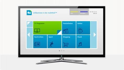 Fernsehen hbbtv TV Video web