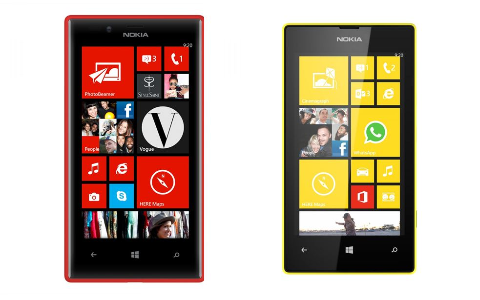 Lumia 520 Lumia 720 Nokia Windows Phone
