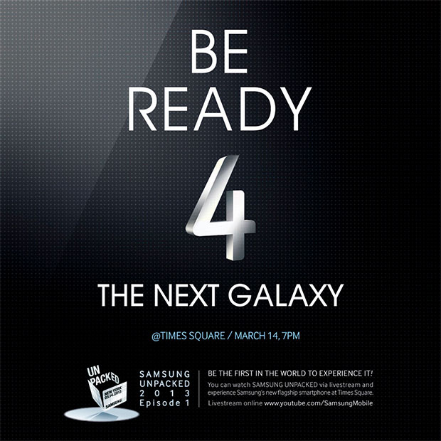 Android event Galaxy S4 Samsung