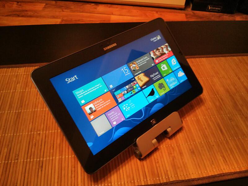 ativ tab microsoft Modern UI Samsung Samsung ATIV Tab tablet Testbericht Windows RT