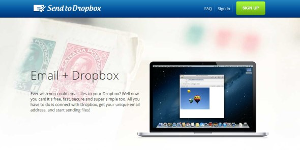 cloud dropbox mail