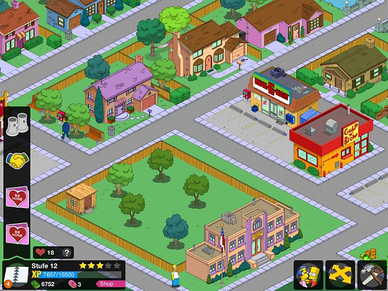 Android Apple Google iOS Simpsons Spiele