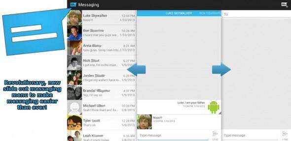 Android app Google holo Nachrichten SMS