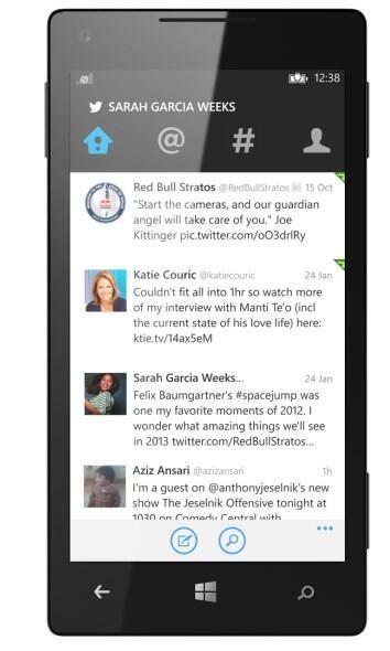 twitter Update Windows Phone