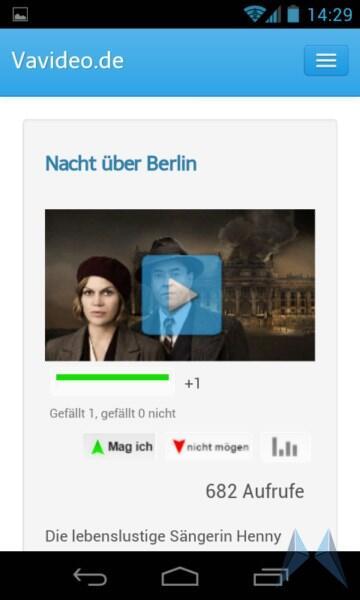 Android iOS TV webapp