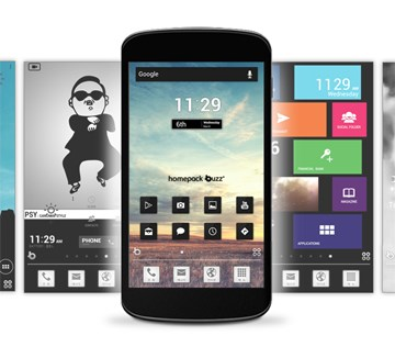 Android Buzz launcher