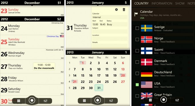 alternative app Kalender microsoft Windows Phone
