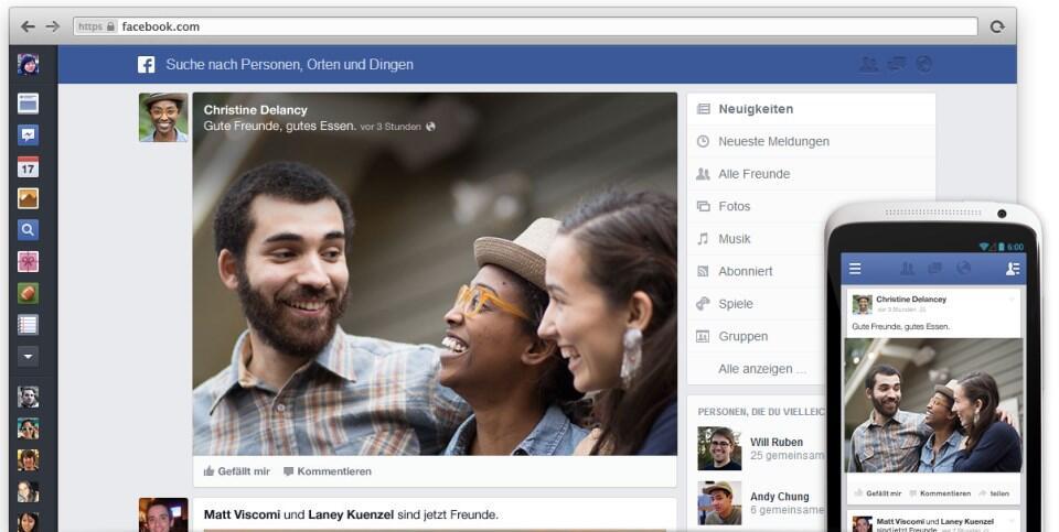 dienste facebook social