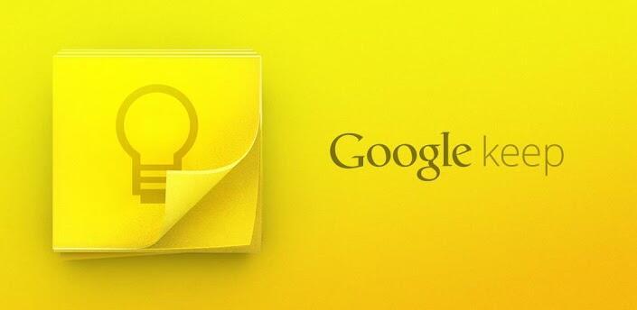 Android Google keep Notizen
