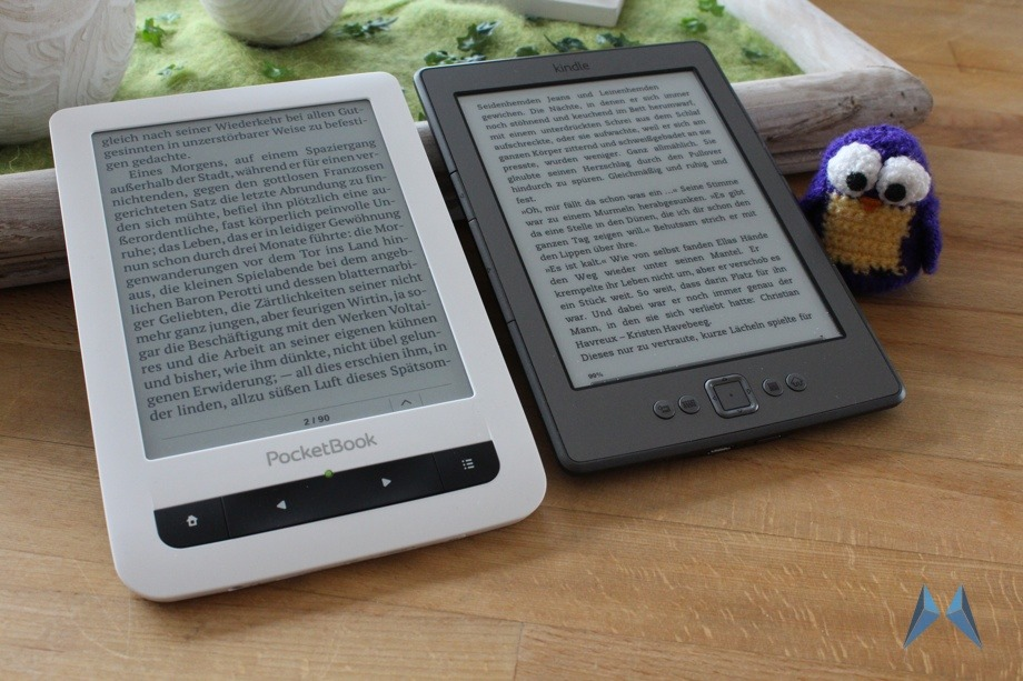 1 e-ink ebook PocketBook 622 reader Testbericht