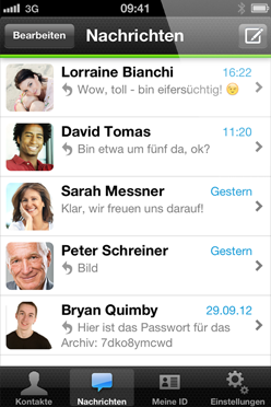 Android beta iOS Messenger