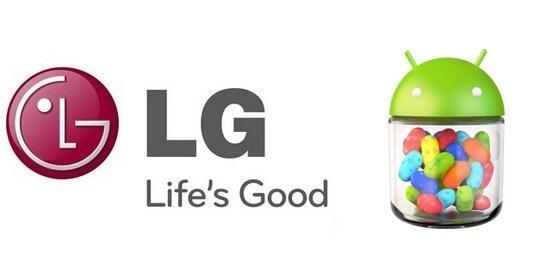 Android Jelly Bean L7 L9 LG Optimus 4X HD termin Update
