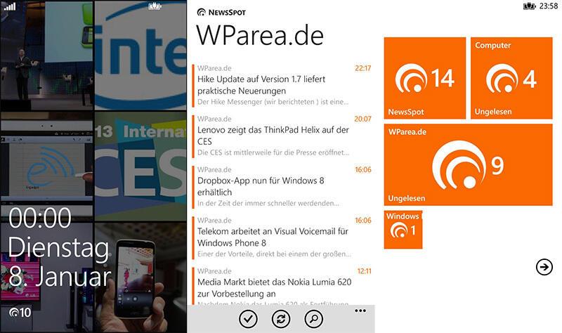 app feeds Google Reader microsoft rss rss reader Windows Phone
