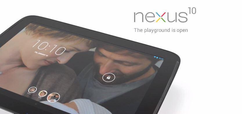 Android clip Google Nexus 10 Video werbung