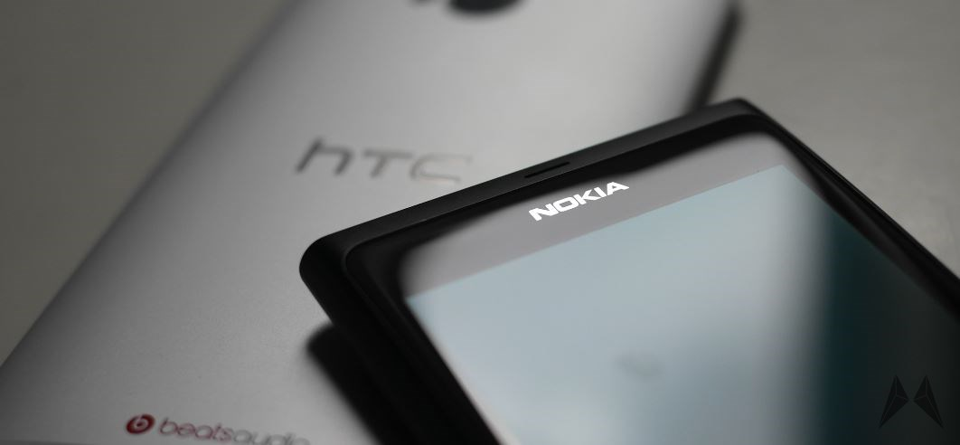 Android HTC Nokia