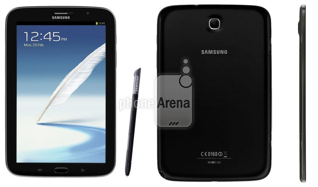 Android galaxy note 8.0 Samsung schwarz